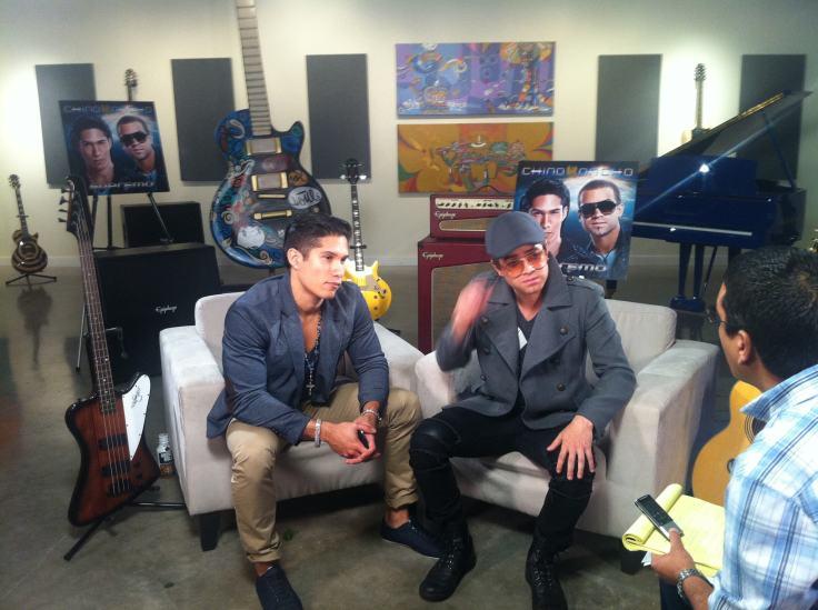 Francisco Rangel Escobar muestra a Chino y Nacho en Entrevista