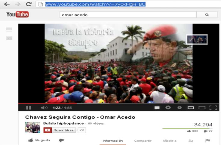 Francisco Rangel Escobar le gusta esta canción para Chávez